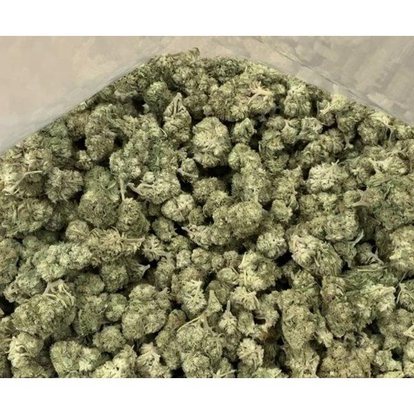 WHITE CBG_Flowers 0.12%THC 12%CBG (Glashouse)