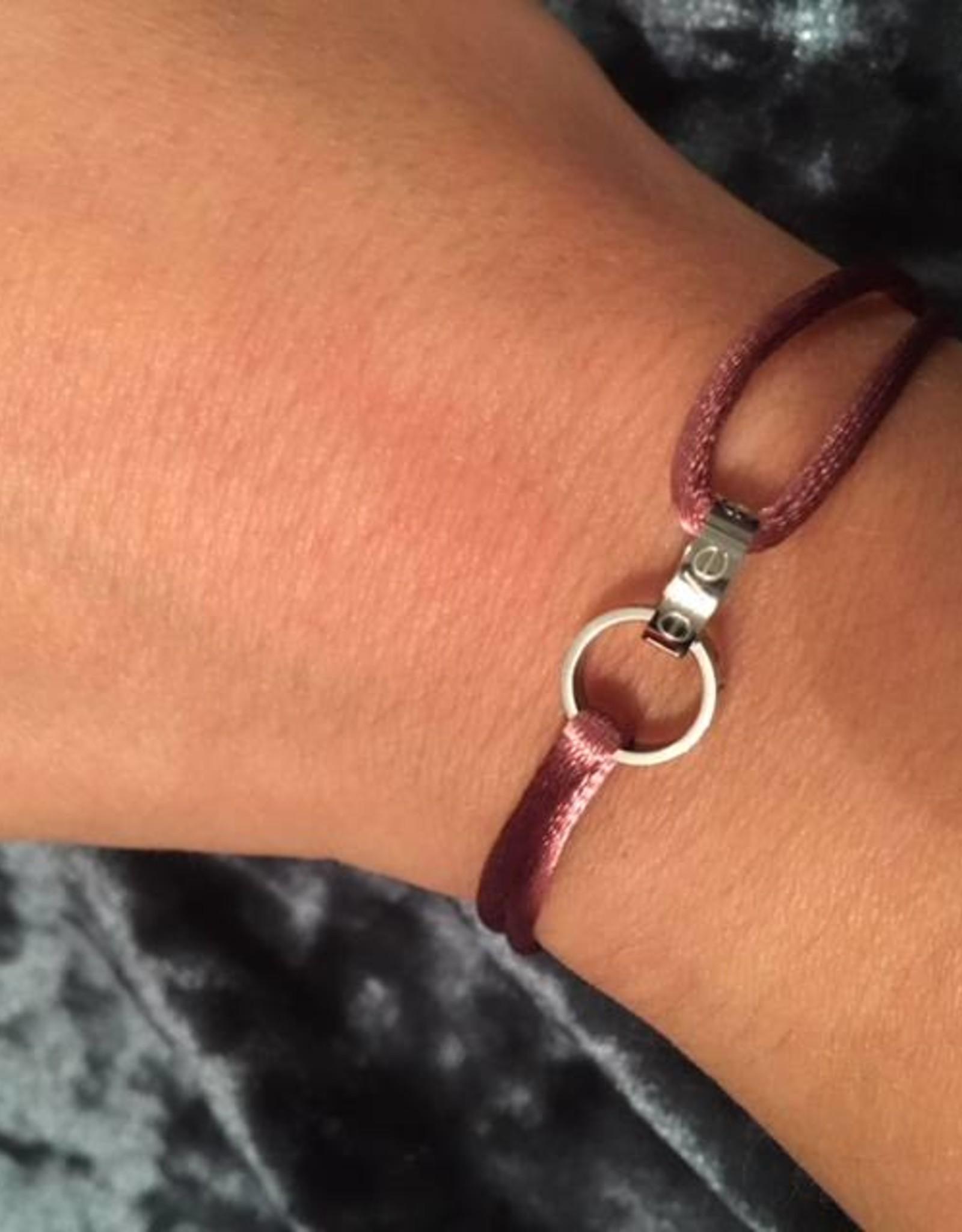 2 rings silver bracelet
