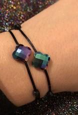 Rainbow klaver armband