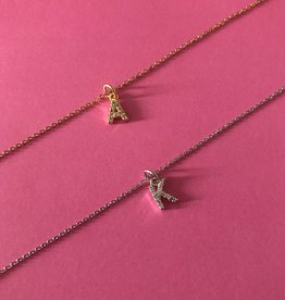 Diamond Letter Ketting