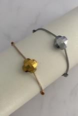 Klaver armband goud