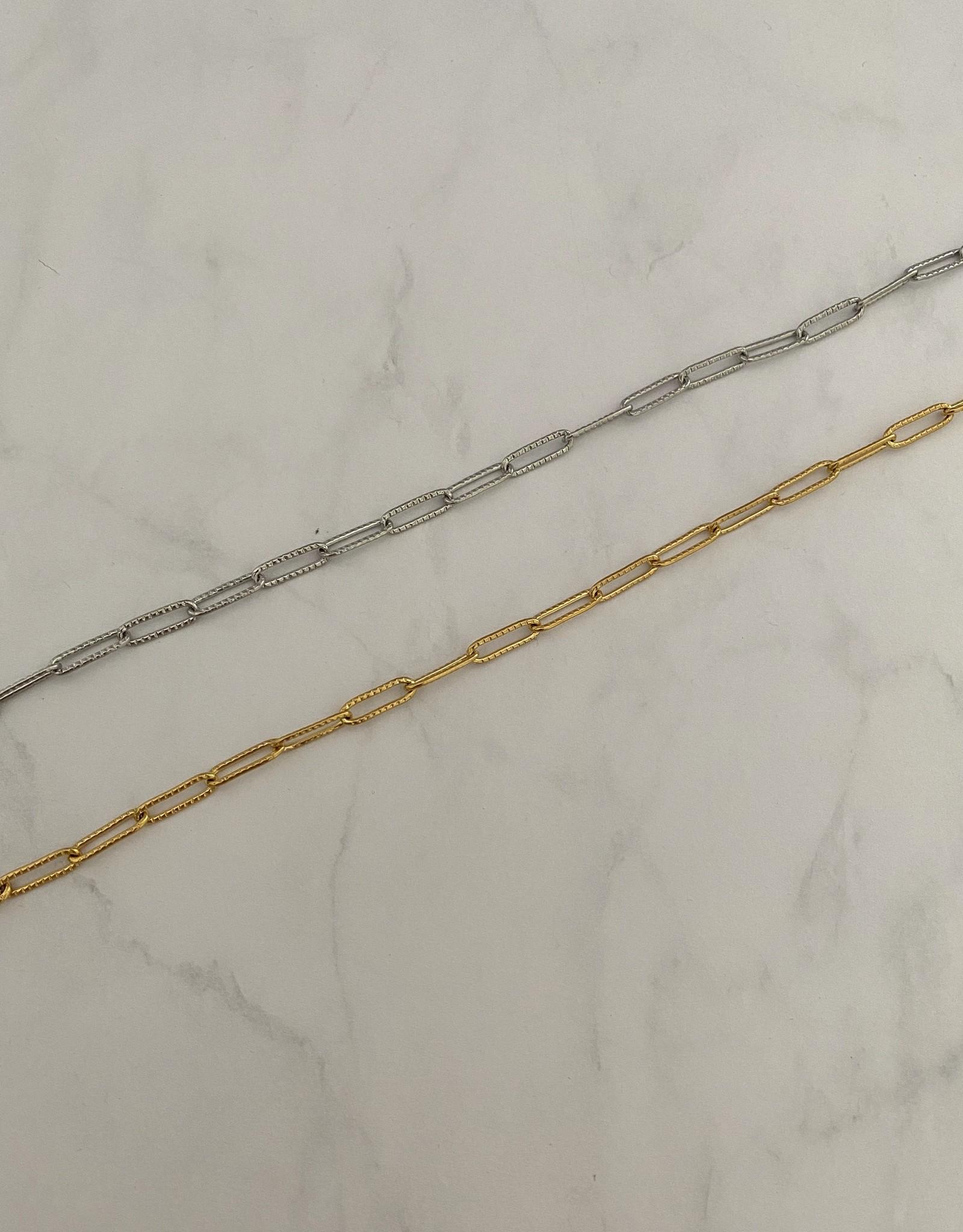 Chain Enkelarmbandje