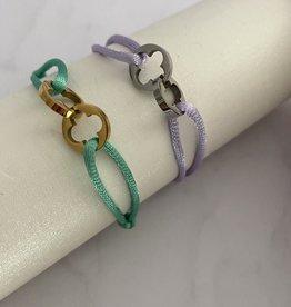 Two Mono Klavers Bracelet