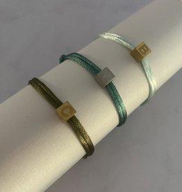 Block Letter Armband
