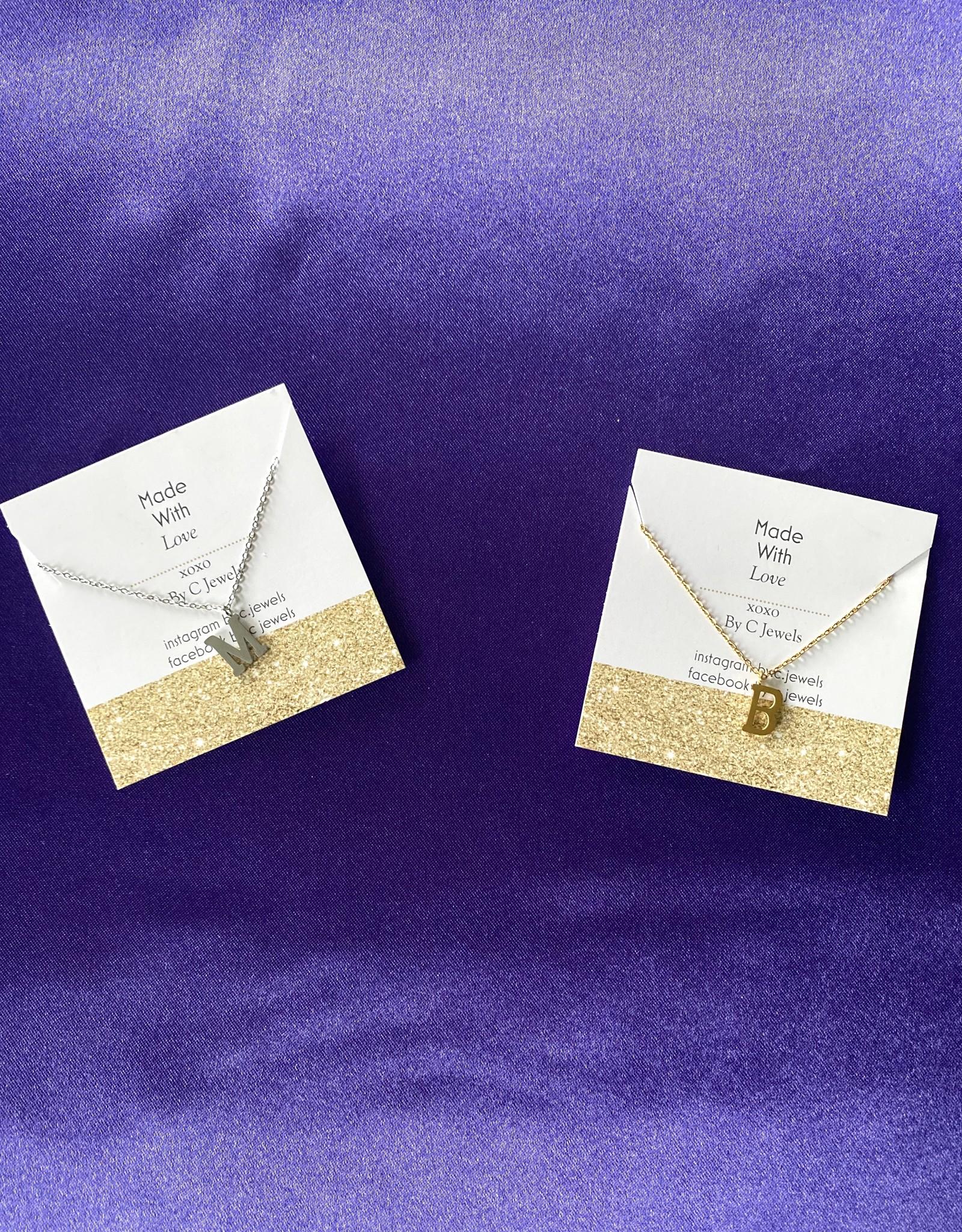 Cute Letter Necklace