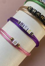 My Letter Bracelet