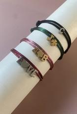 Letter en Symbol Bracelet