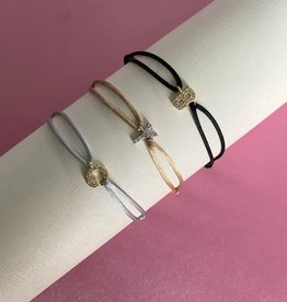 Diamond Letter Armbandje