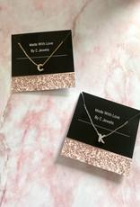 Diamond Letter Necklace