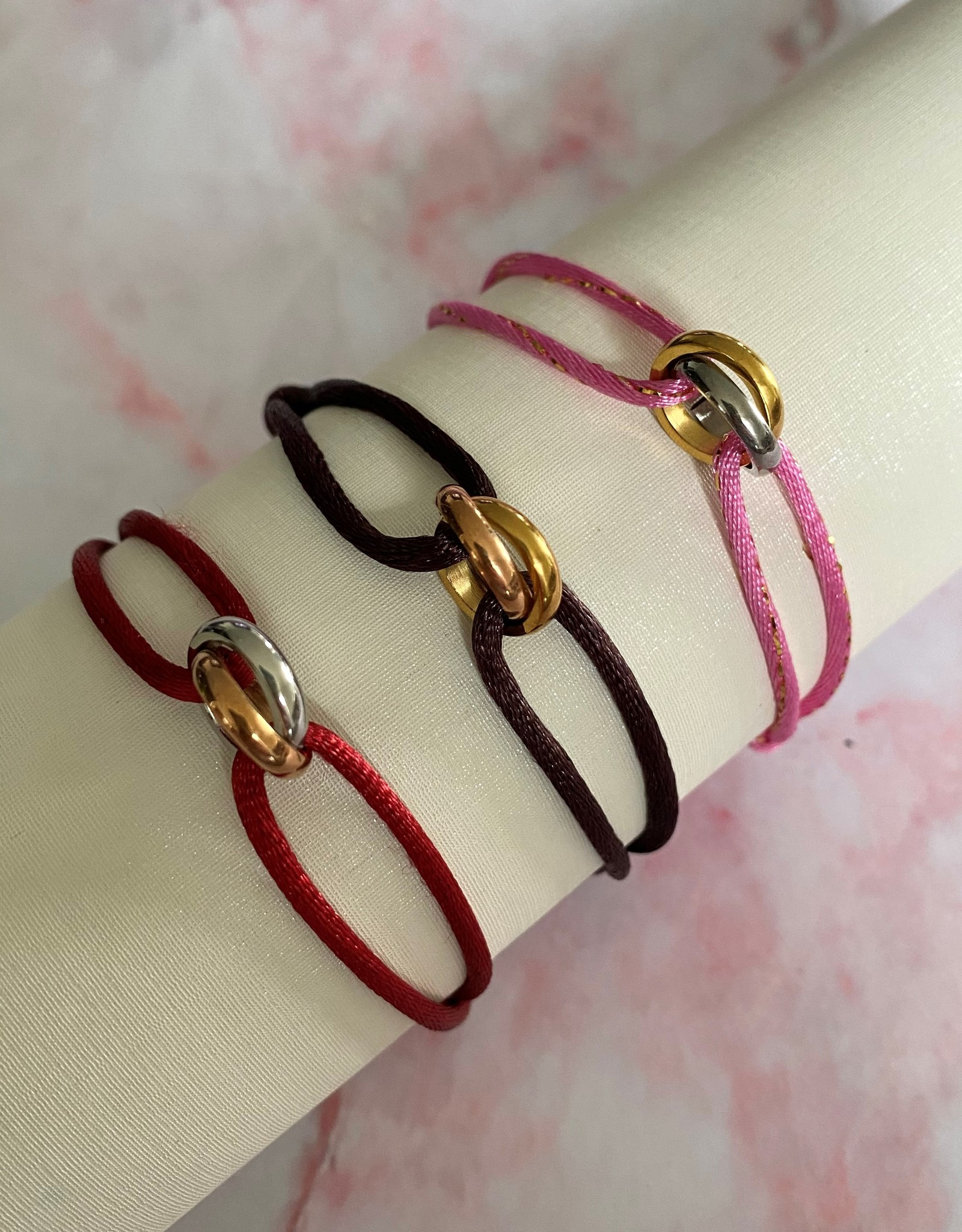 Two Ring bracelet bracelet 2 color