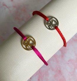 Love circle bracelet