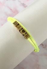 Little Block Letter Bracelet
