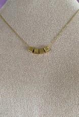 Little Block Letter Necklace