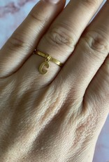 Cute Letter Ring