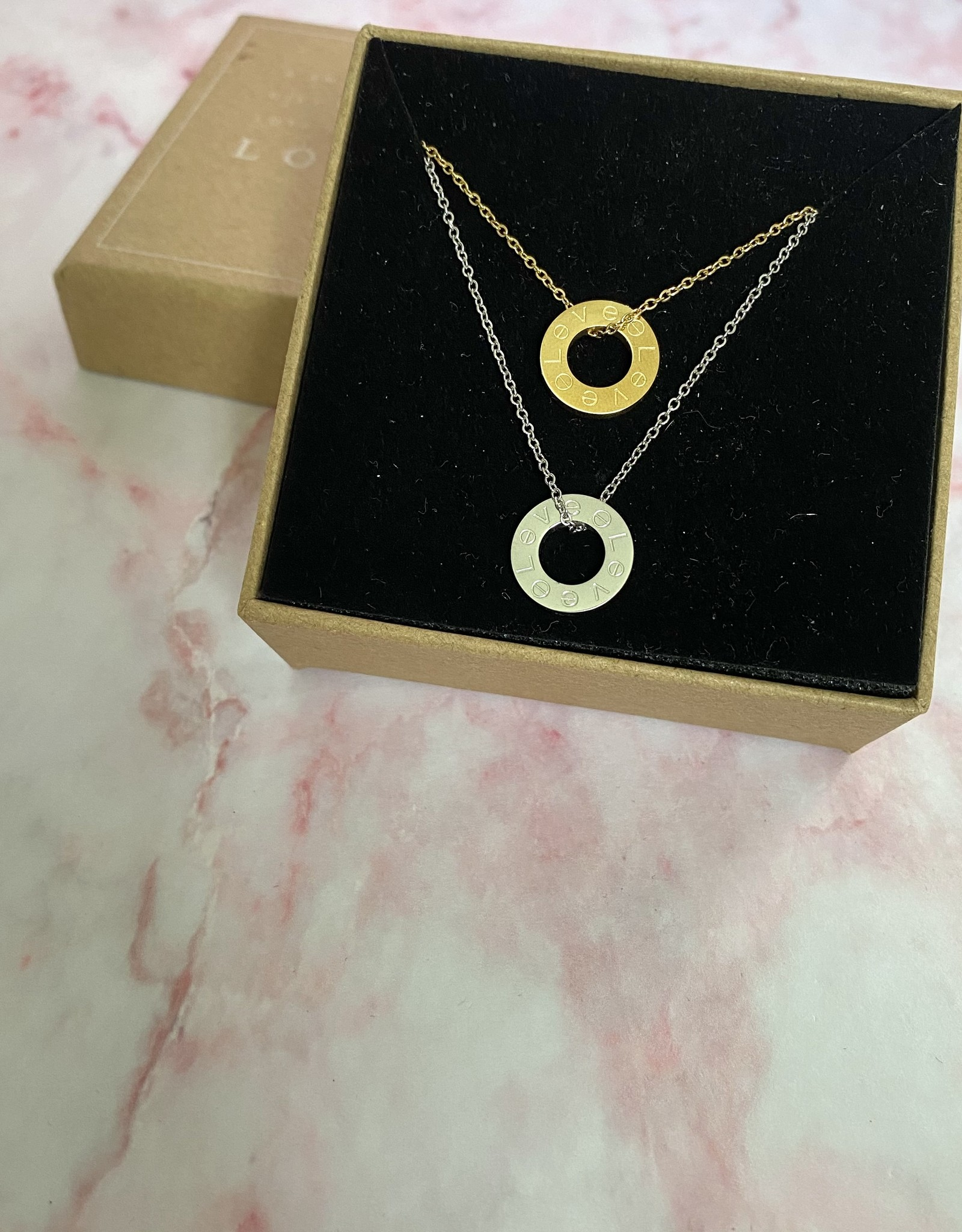 Love Ring Necklace