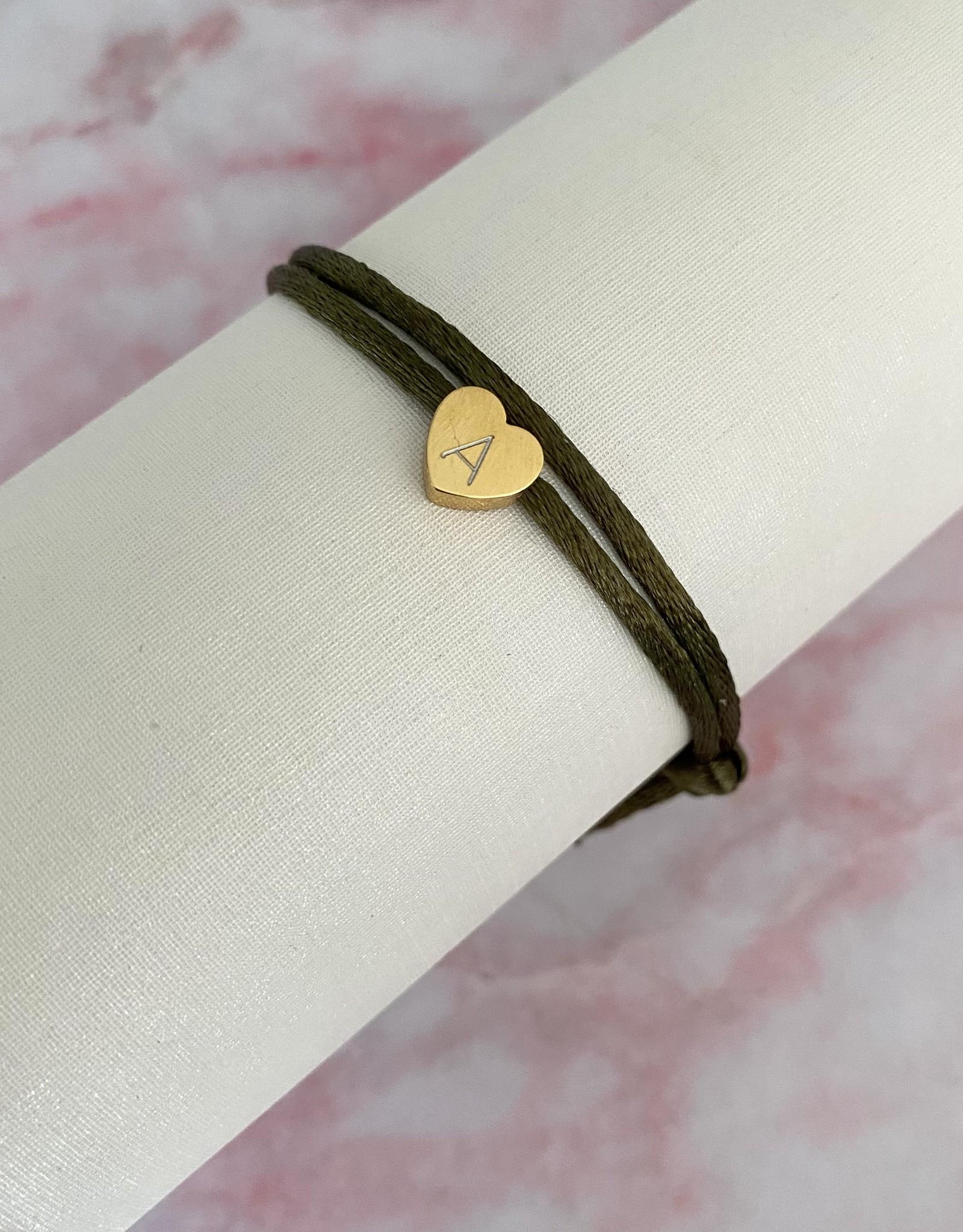 Gegraveerd Hartjes Armband