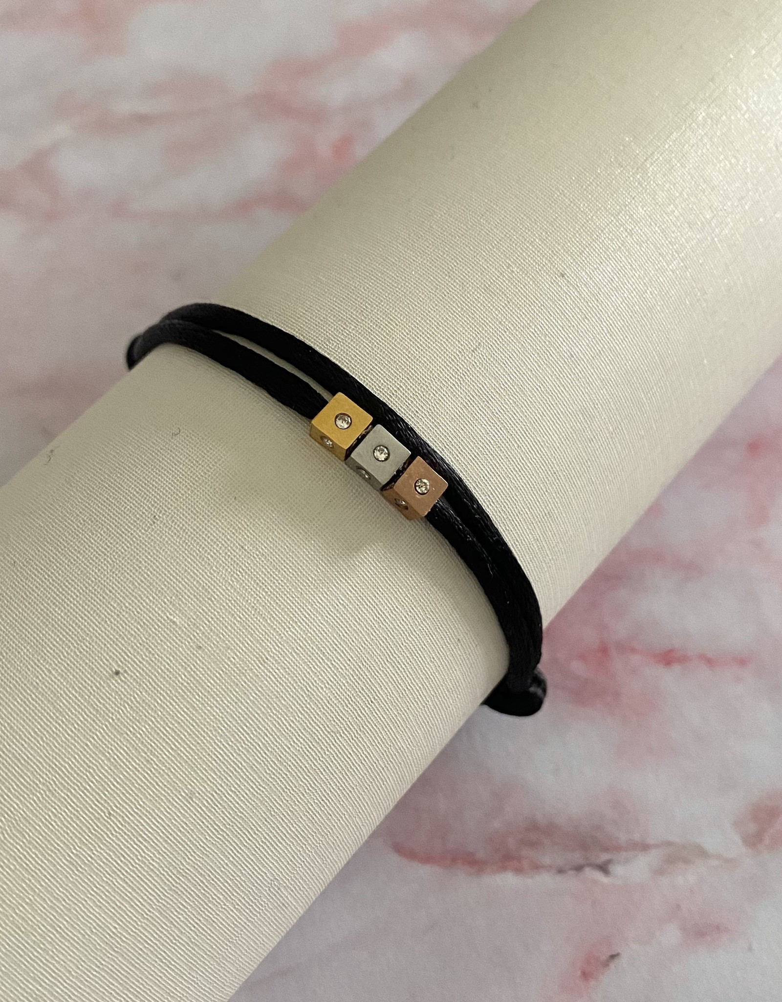 Diamond Cubes Armband