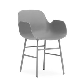 NORMANN COPENHAGEN FORM ARMCHAIR STEEL