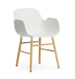 NORMANN COPENHAGEN FORM ARMCHAIR WOOD