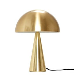 HÜBSCH TABLE LAMP BRASS