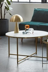 HÜBSCH TABLE LAMP BRASS