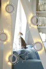 Tse & Tse associées Fleur de Givre - Lampe grimpante à tiges flexibles -