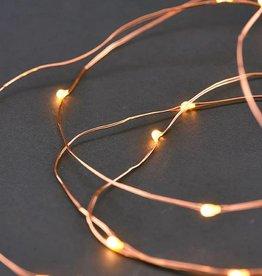 House Doctor Guirlande String Lights Cuivre
