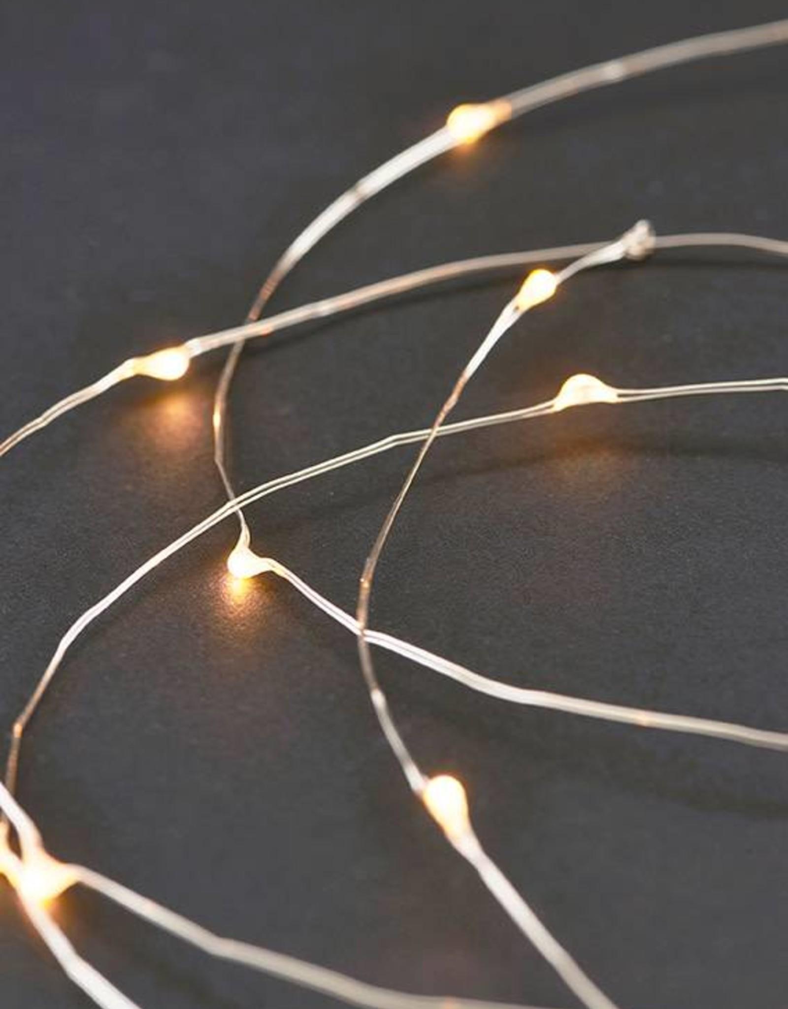 House Doctor Guirlande String Lights Argent 10m