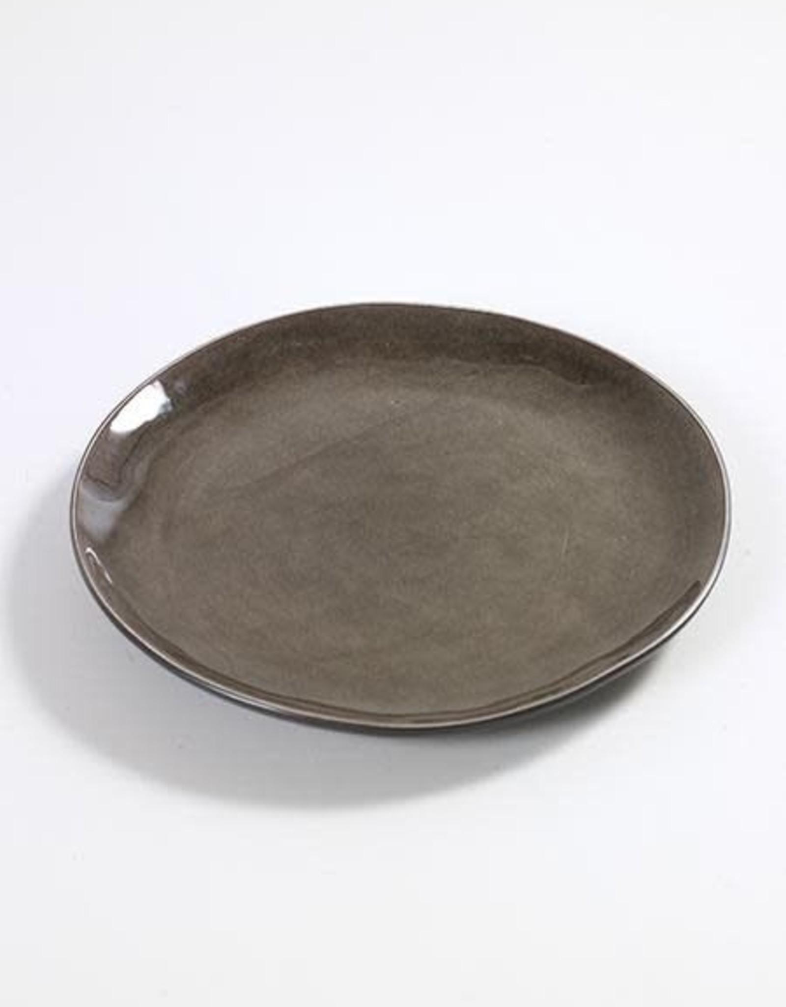 Serax Assiette Ronde Small Gris PURED20,5cm