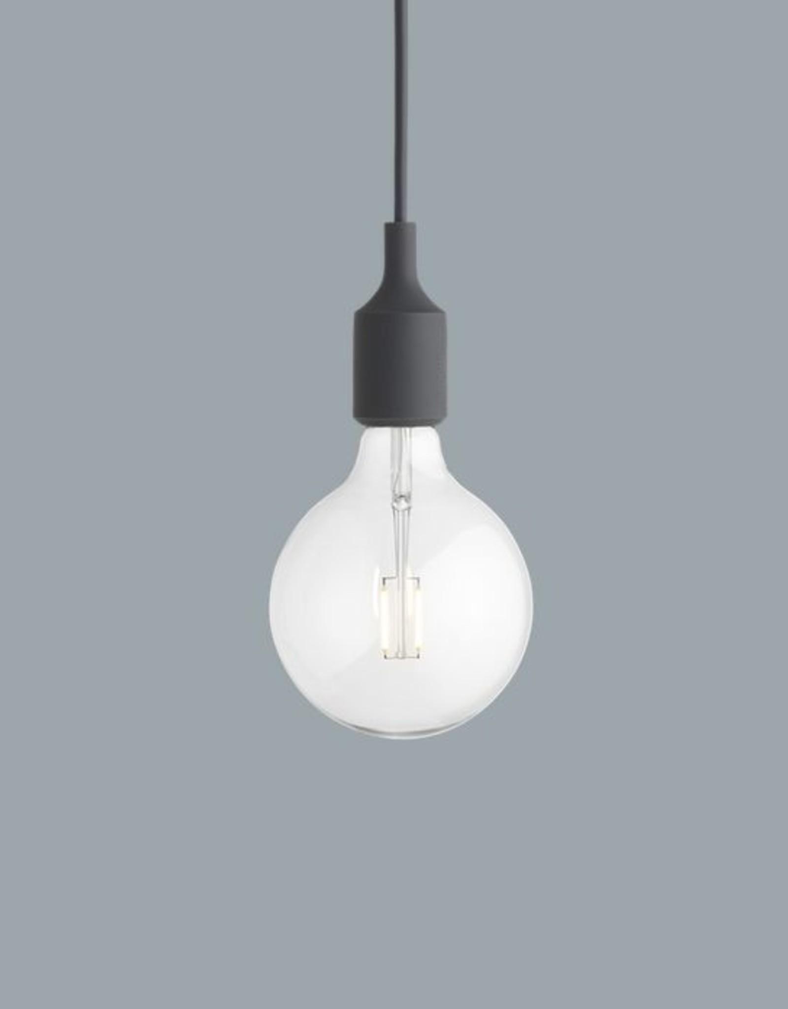 Muuto E27 Dark Grey LED