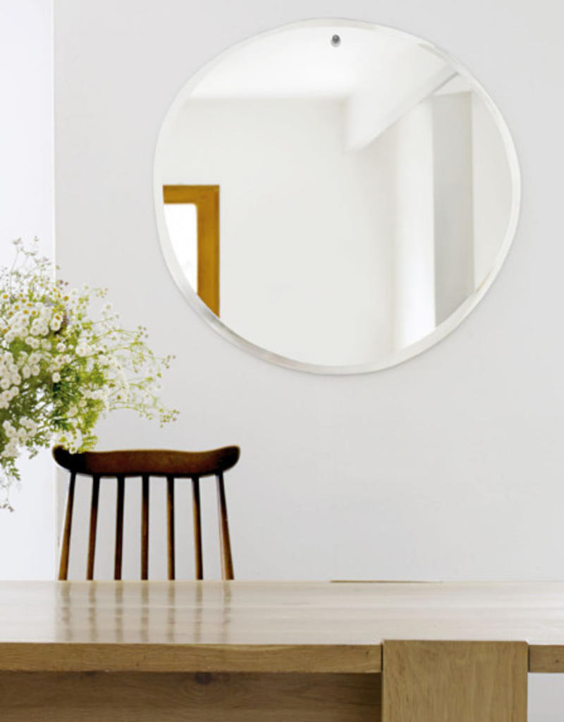 M Nuance Miroir extra plat biseauté rond 47X50 cm - M Nuance