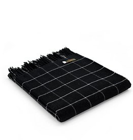 Tweedmill Textiles Plaid noir Check 130x180 cm