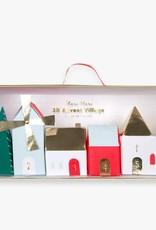 Meri Meri Calendrier De L'Avent - Village de Noël - Meri Meri