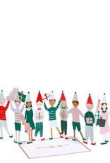 Meri Meri Carte de Noël Elf Concertina - Meri Meri