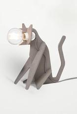 eno studio Lampe Get Out Cat Gris Clair - Eno Studio
