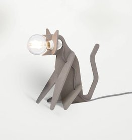 eno studio Lampe Get Out Cat Gris Clair - Eno Studio