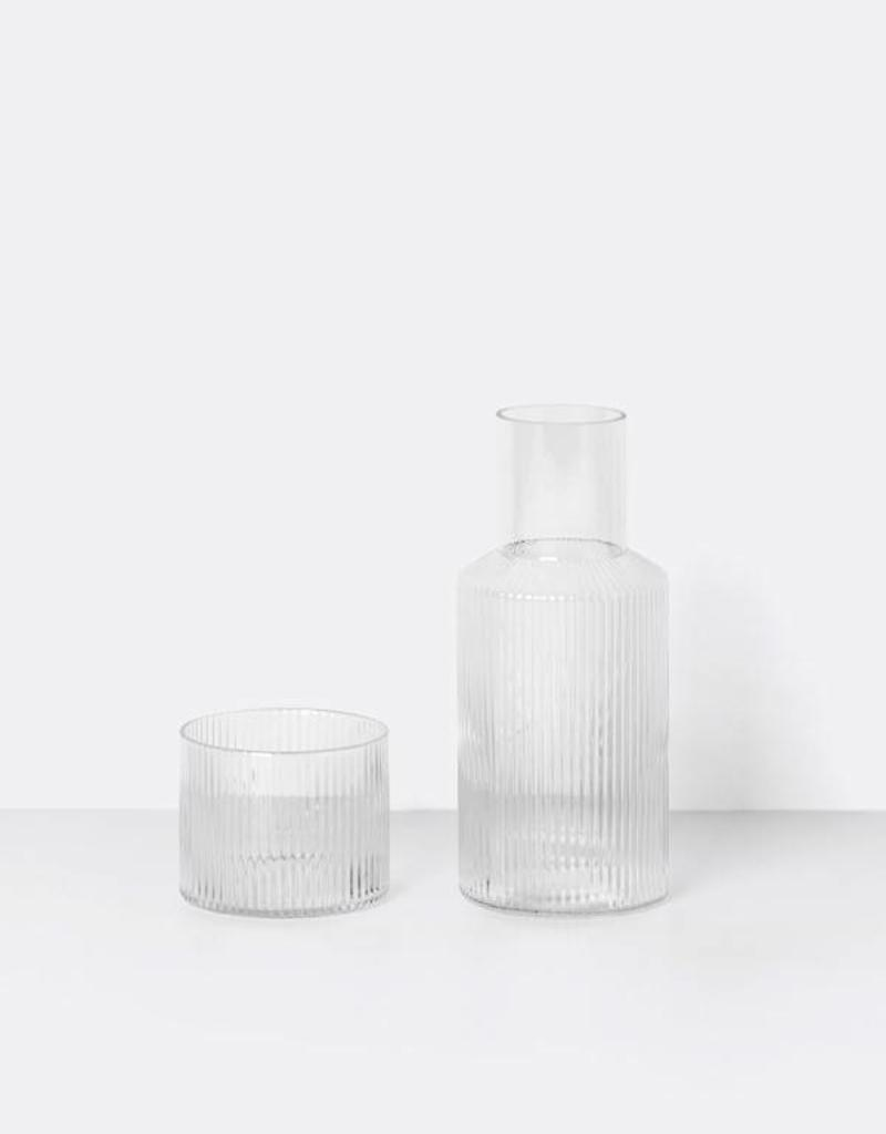 Ferm Living Ripple Carafe Set Small - Ferm Living