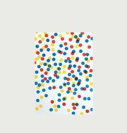 5 cartes A6 coins arrondis confettis - Le Typographe