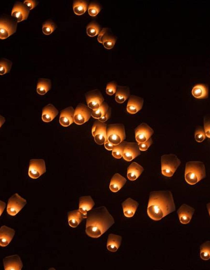 Sky Lantern Lanterne Volante Balloon Blanc - Sky Lantern