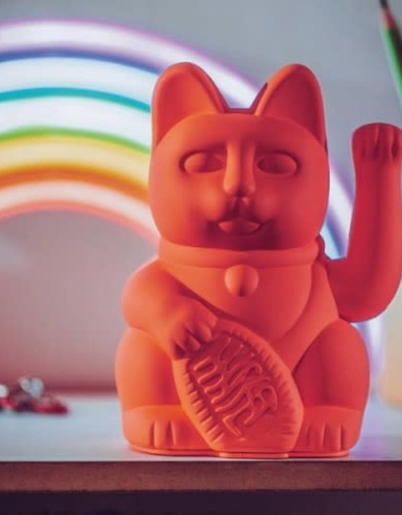 Donkey Lucky Cat Neon Pink - Donkey