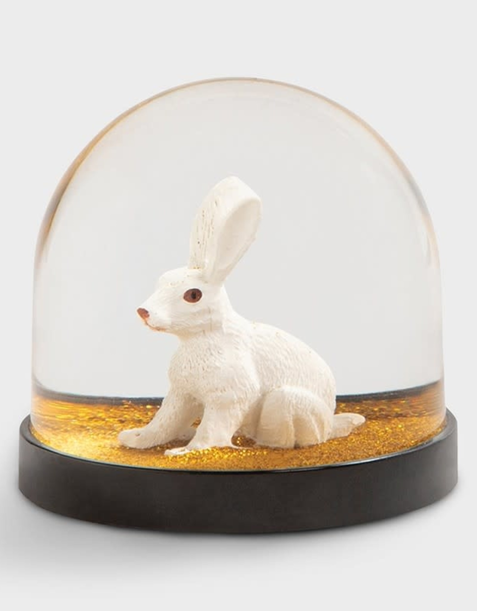 & klevering Boule à neige Wonderball Rabbit Gold