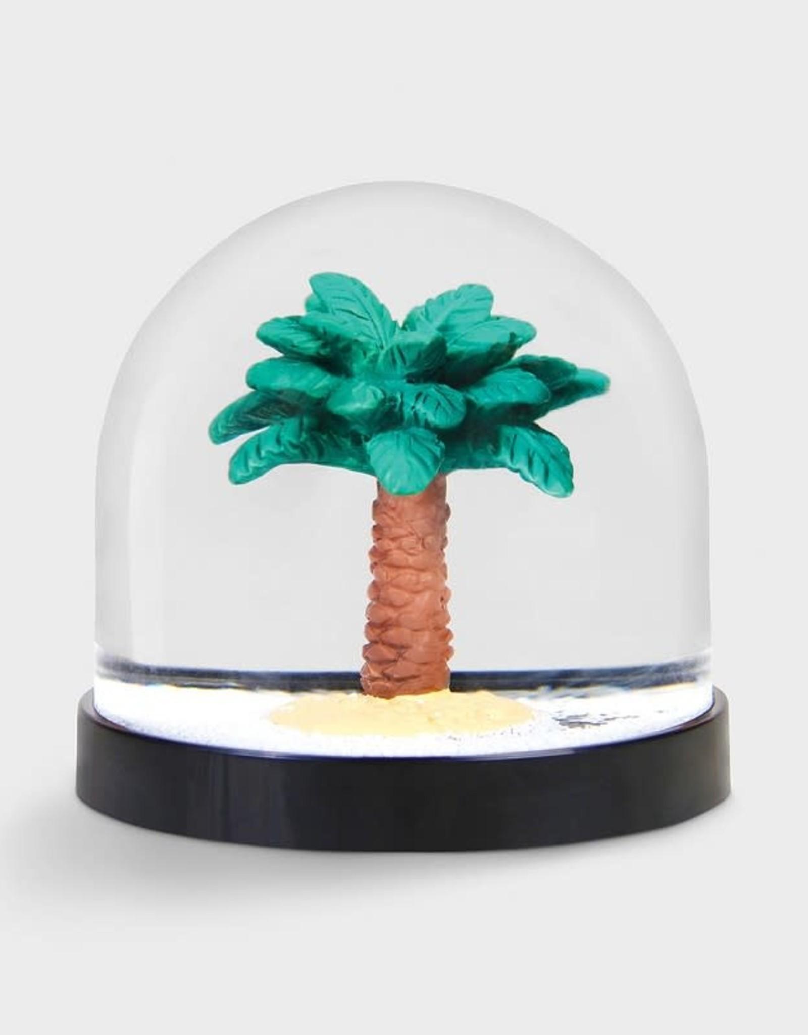 & klevering Boule à neige Wonderball Palm Tree