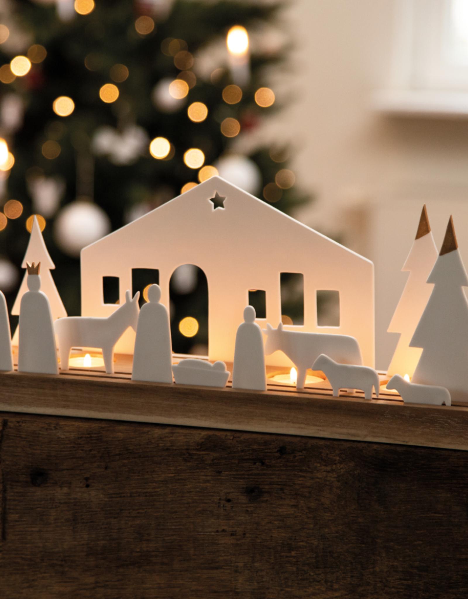Rader Grand bougeoir Nativité