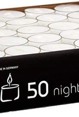 50 bougies chauffe-plat 7-8 heures