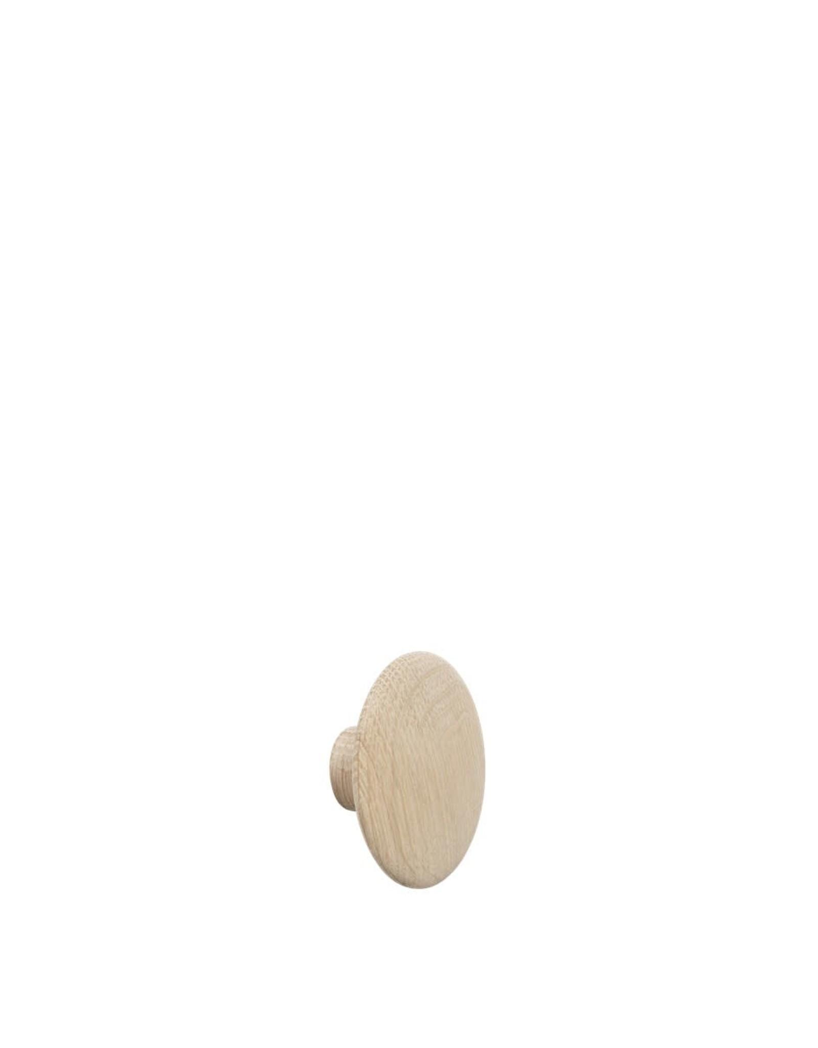 Muuto Patère The Dots Wood Chêne