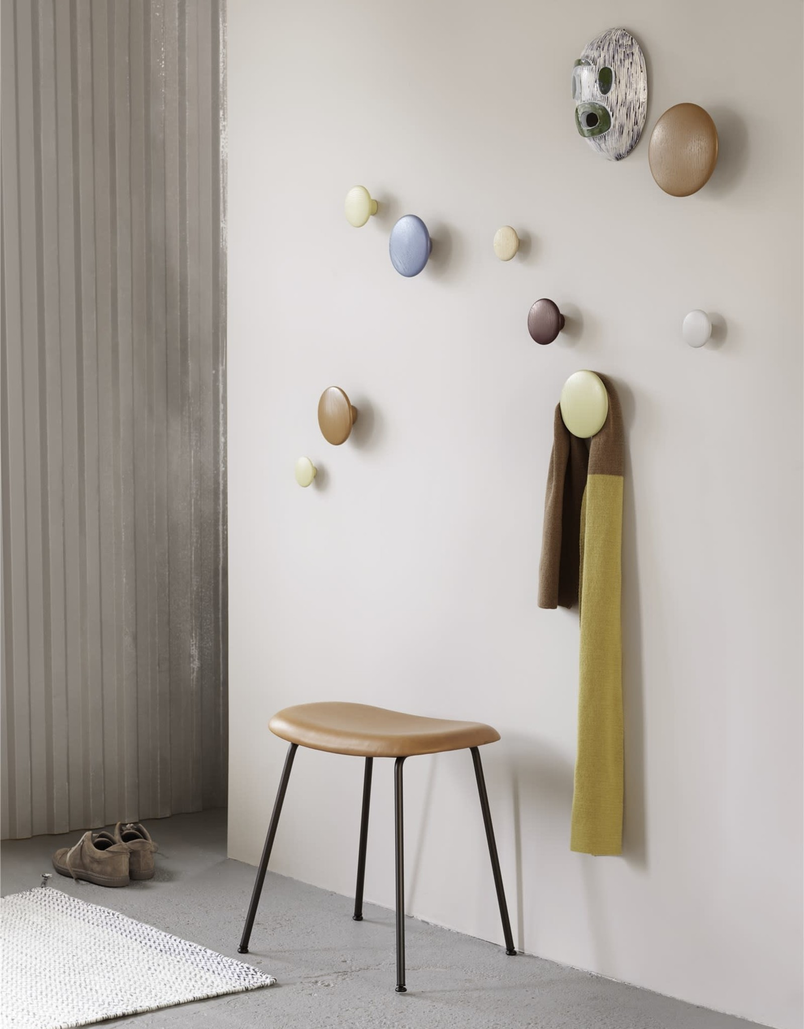 Muuto Patère The Dots Wood Grey