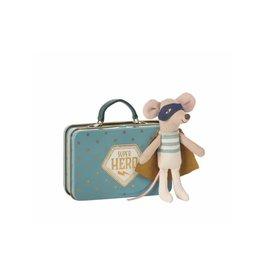 Maileg Souris Superhero dans sa valise