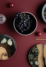 ibride Service de table Yuan Eden bordeaux/ 8 pièces empilables