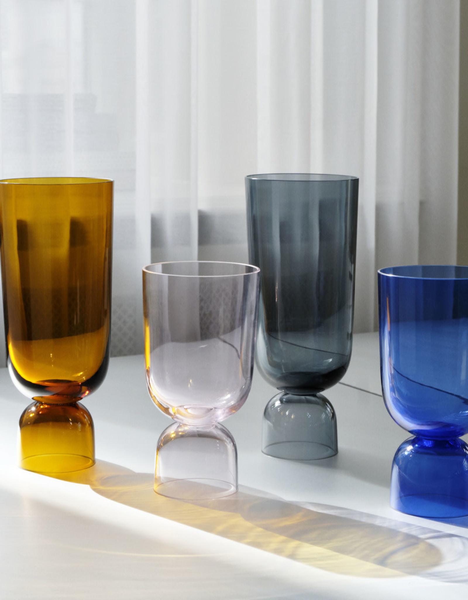Hay Vase Bottoms Up L Navy blue