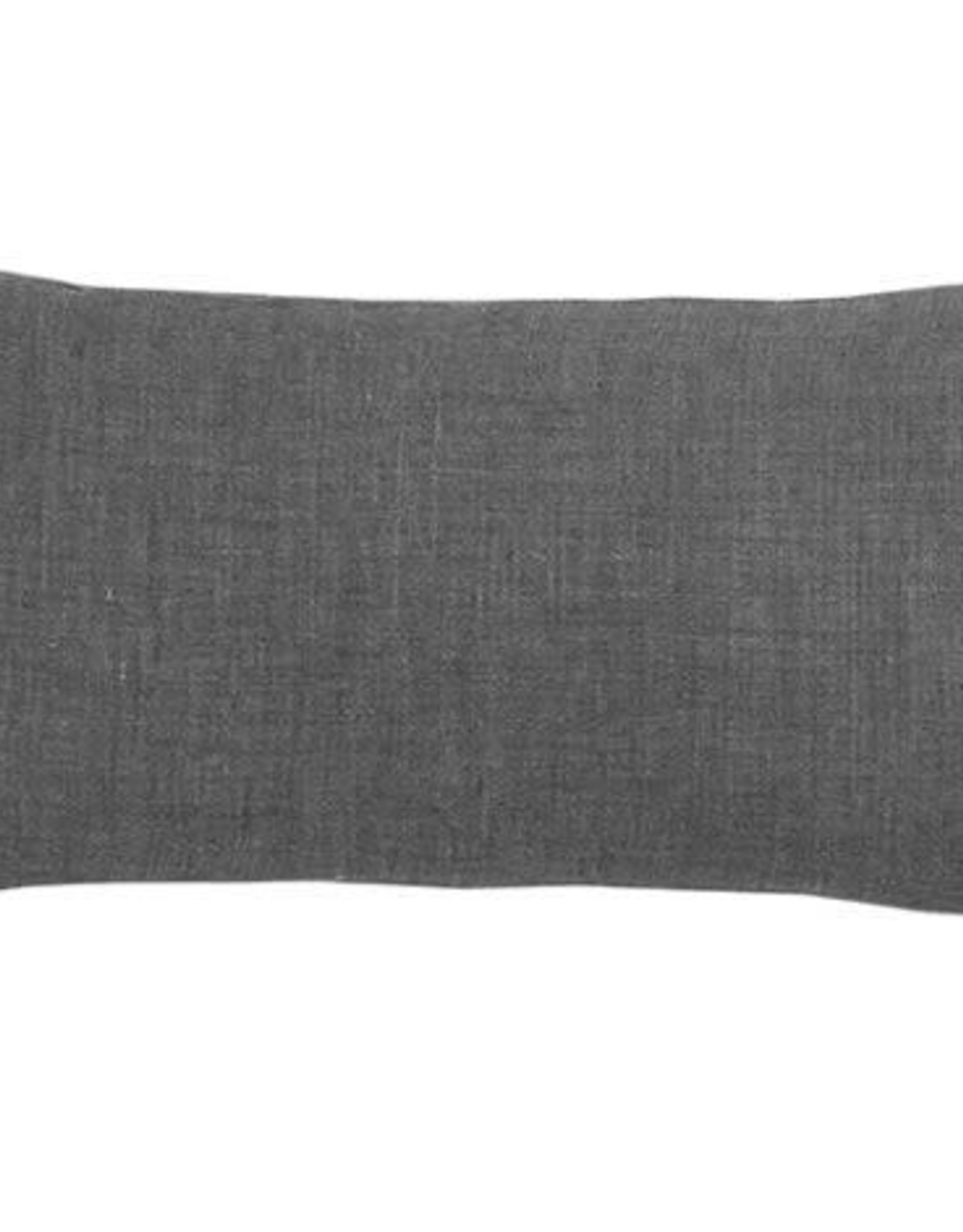 Bed & Philosophy Coussin rectangle 30x60cm CANAILLE – Graphite